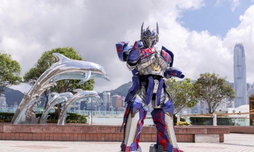 2.5高的大黃蜂及逾6米長的柯柏文貨車將一連七日出訪香港各區【6月12-18日】