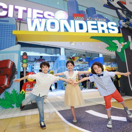 全港唯一樂高城市現身太古城《Cities of Wonders》【至7月16日】
