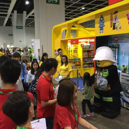 LEGO 強勢進駐BB展, 啟智產品均獲一家大細喜愛