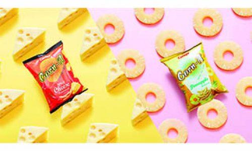 甜香菠蘿遇上香辣芝士 激發潮夏新「脆」味 卡樂B Corn-it雙重奏 全新西式口味熱爆登場