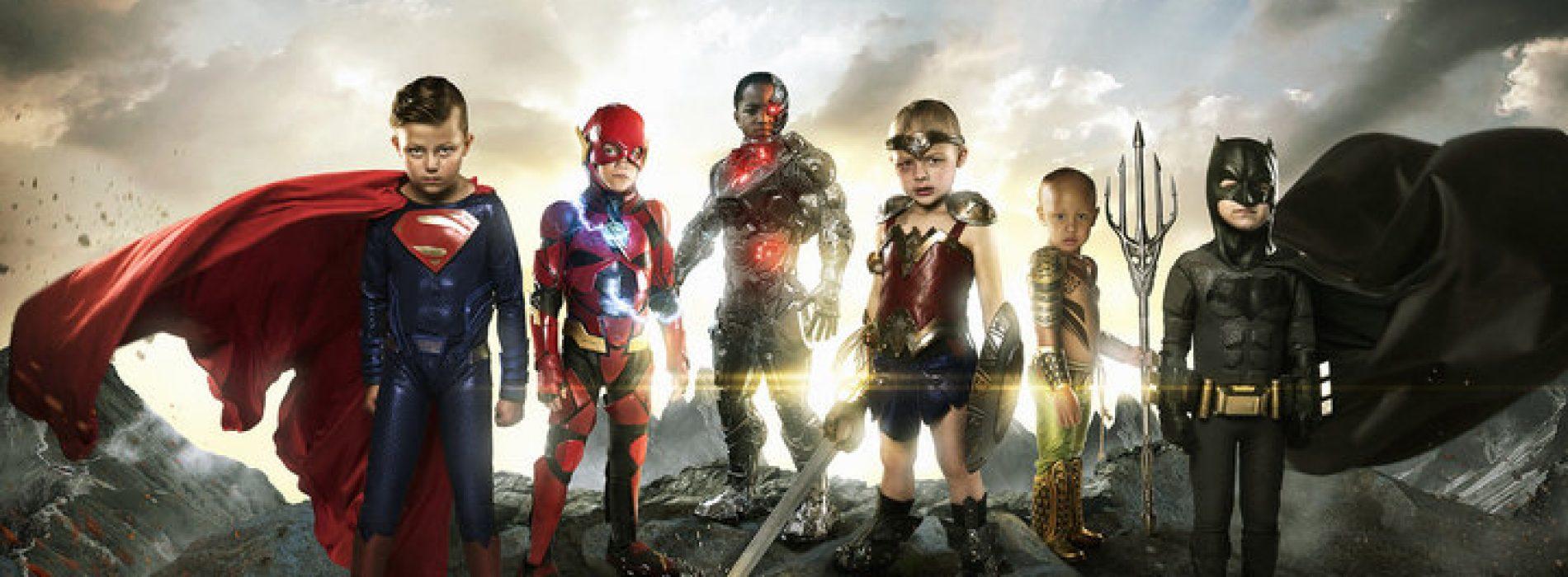 攝影師把患重病的孩子們打造成真正的超級英雄