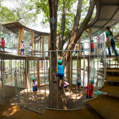 日本幼稚園,打破傳統的格調