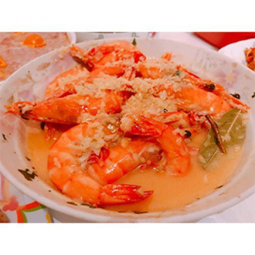 《奶油蝦》鮮美多汁的蝦加上香甜可口的醬汁簡直是絕配!