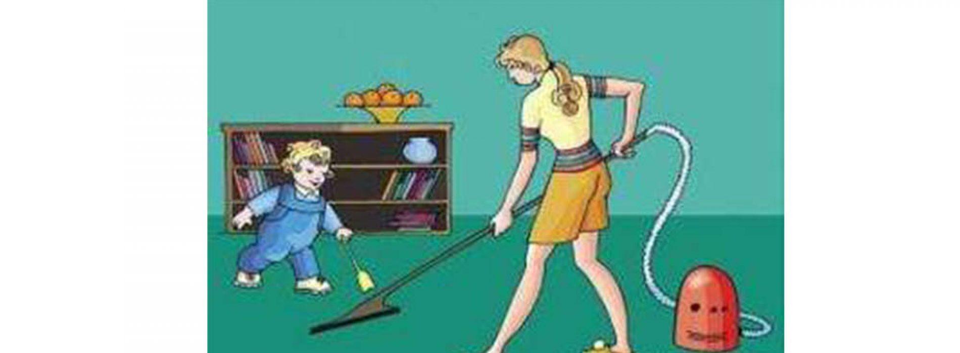 孩子要讀書就不用學會做家務?!