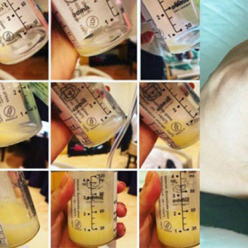 新手媽媽胡杏兒,奶水得來不易