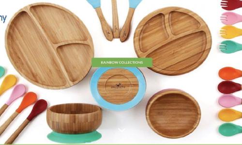 美國Avanchy竹製餐具.BLW好幫手