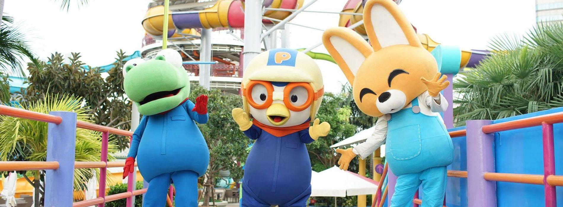 泰國Pororo親子水上樂園 – $66玩全日