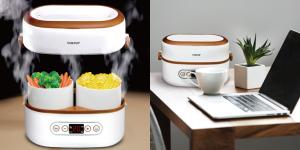 日本品牌SOUYI便攜飯鍋 「一人前」即蒸飯盒