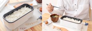 日本品牌 Thanko即蒸飯盒 「一人前」即蒸飯盒